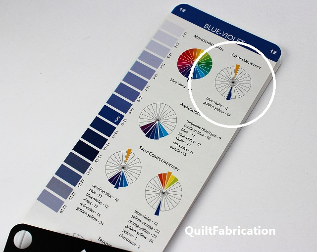 blue violet color chart