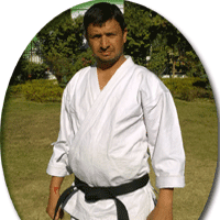 karate trainer of jeet sports academy, Ujjain