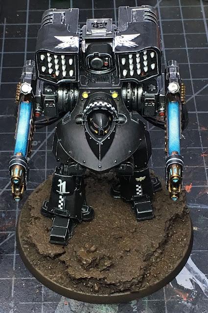Heresy Era Dark Angels Deredeo Plasma Dreadnought - WIP