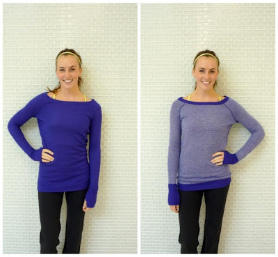 lululemon wild lime bra under pigment chai time pullover