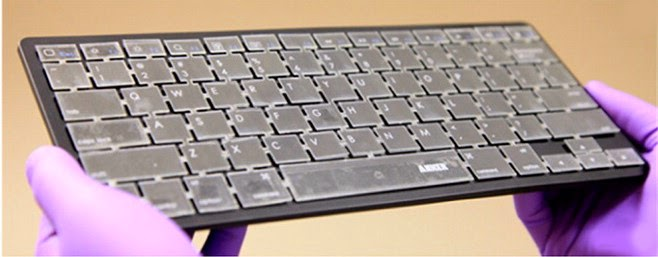 Energy-generating  keyboard