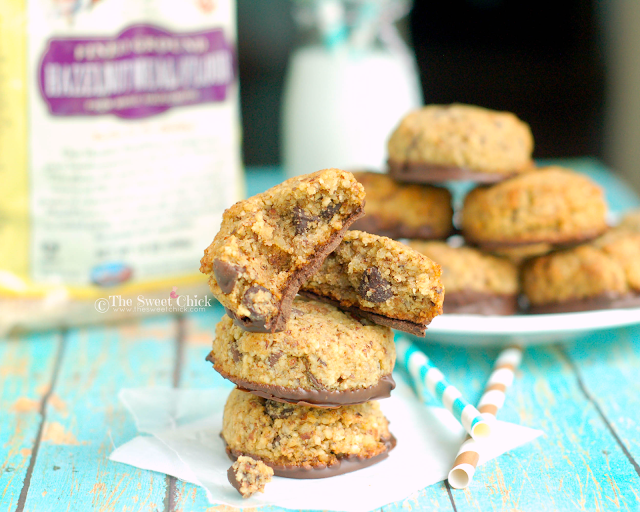 #glutenfree #cookies #hazelnut #chocolatechip