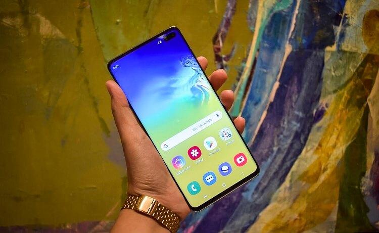Samsung Unleashes Galaxy S10+