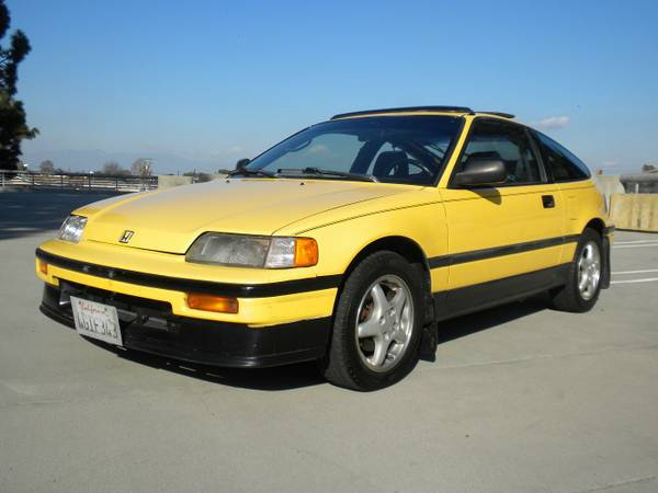 Original Low Miles, 1989 Honda CRX SI