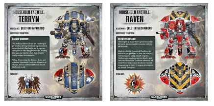 Imperial Knights: House Terryn and Raven