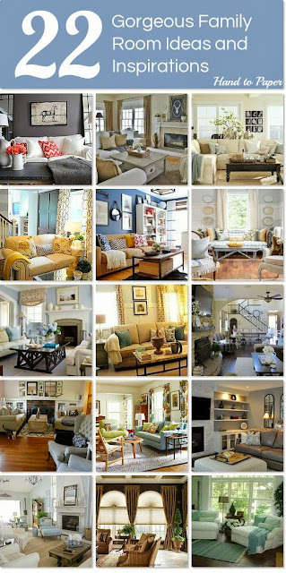 Hand to Paper: FAMILY ROOM DESIGN IDEAS WITH HOMETALK