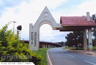 Portal da cidade de Ponta Grossa
