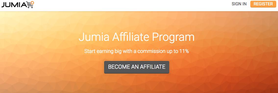 Jumia Affiliate Program Application