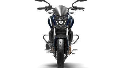 Bajaj Dominar 400 Midnight Blue front profile image