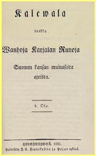 Primera Edicion del Kalevala
