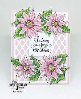 Our Daily Bread Designs Stamp/Die Duos: Joyful Christmas, Paper Collection: Christmas 2018, Custom Dies: Lattice Background, Double Stitched Squares