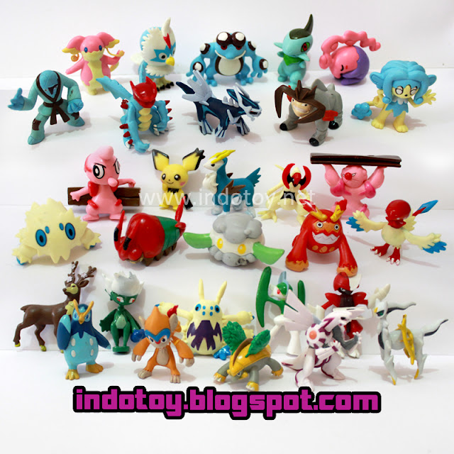 Jual Figure Pokemon isi 30