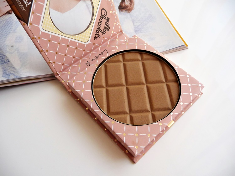 Milky Chocolate bronzer puder brązujący Lovely