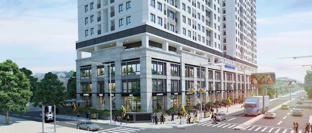 Thiết kế tầng thương mại chung cư ICID Complex