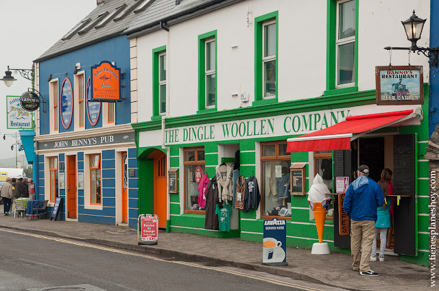 Calles Dingle Irlanda Condado de Kerry