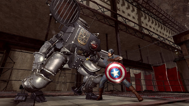 Captain America Super Soldier - Xbox 360 - Multi5 - Captura 3