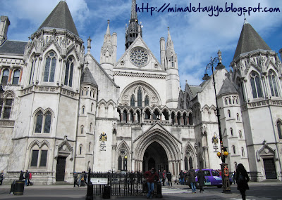 The Royal Courts of Justice, Londres