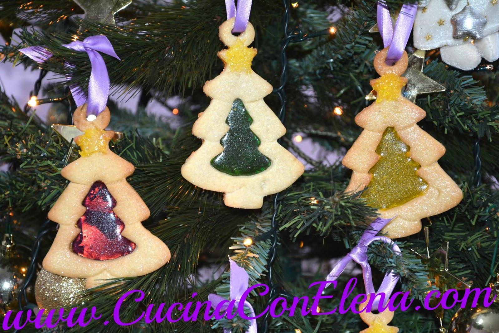 Biscotti Di Natale 1 Uovo.Cucina Con Elena Biscotti Natalizi A Specchio O Vetrata