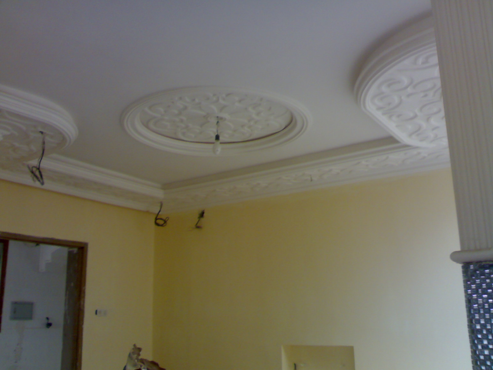 Pl tre plafond marocaines ms timicha d coration marocaine for Decoration platre plafond marocain