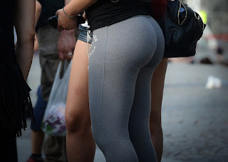 Mujeres pantalones de yoga hot
