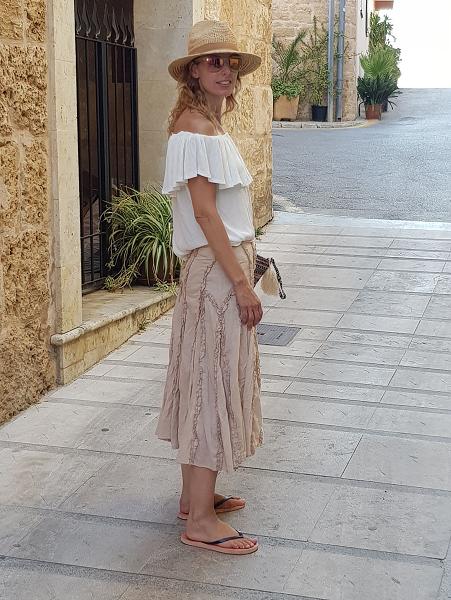 blusa bambula blanca