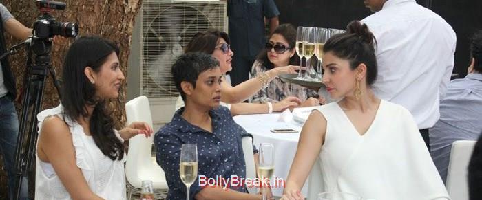 Adhuna Bhabani Akhtar, Anushka Sharma, Hot Pics of Priyanka Chopra Anushka Sharma At 'Dil Dhadakne Do' Music Launch Photo Gallery