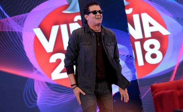 Carlos Vives prende en escenario de Viña del Mar 2018