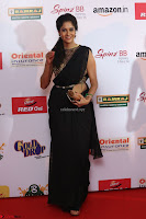 Sindhu looks fabulous in Black Saree designer choli at Mirchi Music Awards South 2017 ~  Exclusive Celebrities Galleries 012.JPG