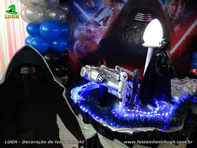 Decoração para mesa de festa Star Wars - Festa infantil