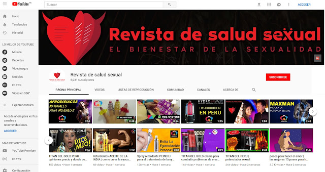 https://www.youtube.com/c/Revistadesaludsexual