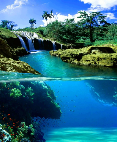 hermosos paisajes cascadas wallpapers - Imagenes De Paisajes