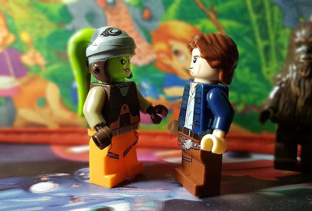 Hera Syndulla and Han Solo