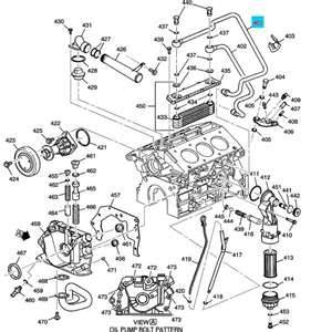 Service manual 1998 Cadillac Catera Engine 3.0L Oil Cooler