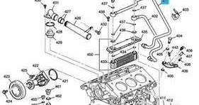 Service manual 1998 Cadillac Catera Engine 3.0L Oil Cooler