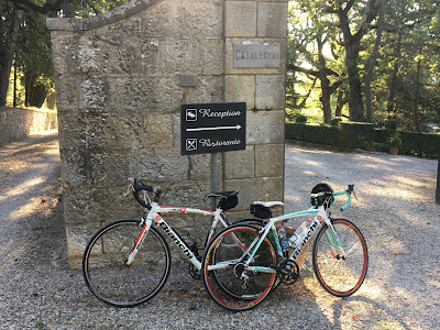 cycling tuscany bianchi carbon road bike rental shop in castellina in chianti
