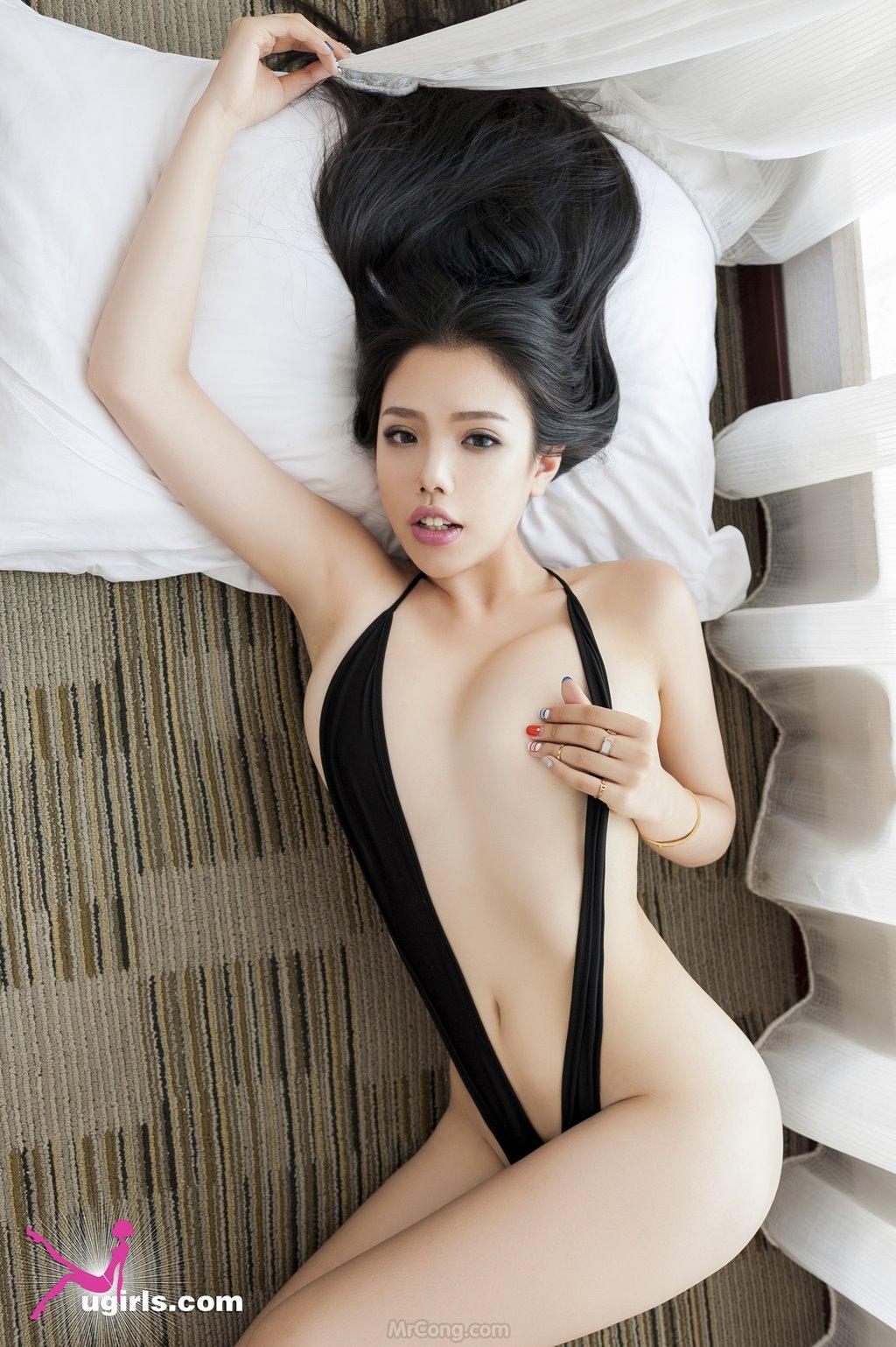 Image MrCong.com-UGIRLS-035-Ni-Xiao-Yao-022 in post Mê mẩn ngắm vòng một nở nang của người đẹp Ni Xiao Yao (妮小妖) trong bộ ảnh UGIRLS 035
