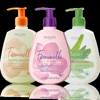 Προϊόν Καθαρισμού Feminelle 300ml για την Ευαίσθητη Γυναικεία Περιοχή