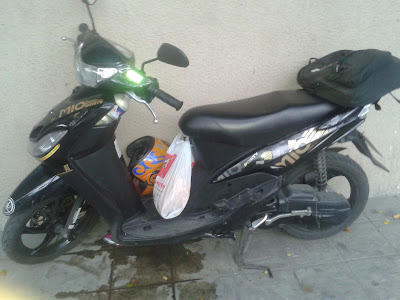 Yamaha Mio Sporty Specifications Image side