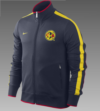 the best attitude 1d1b7 60161 Club America N98 Authentic Men's Soccer Track Jacket and ...