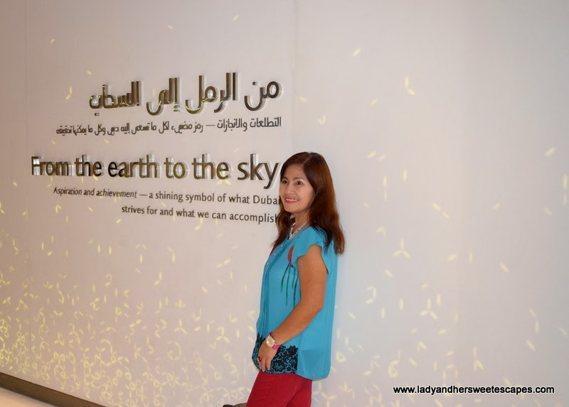 From the earth to the sky at Burj Khalifa