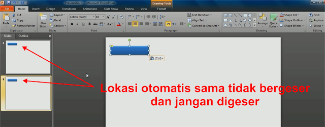 Cara Membuat Drop Down Menu pada Power Point