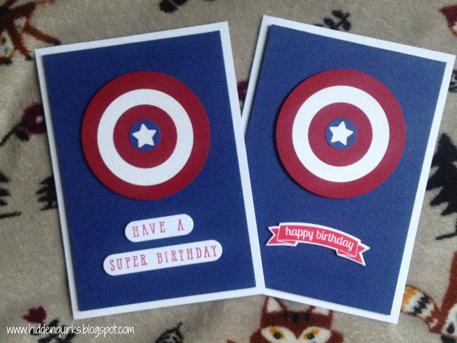 Hidden Quirks Captain America Have a Super Birthday