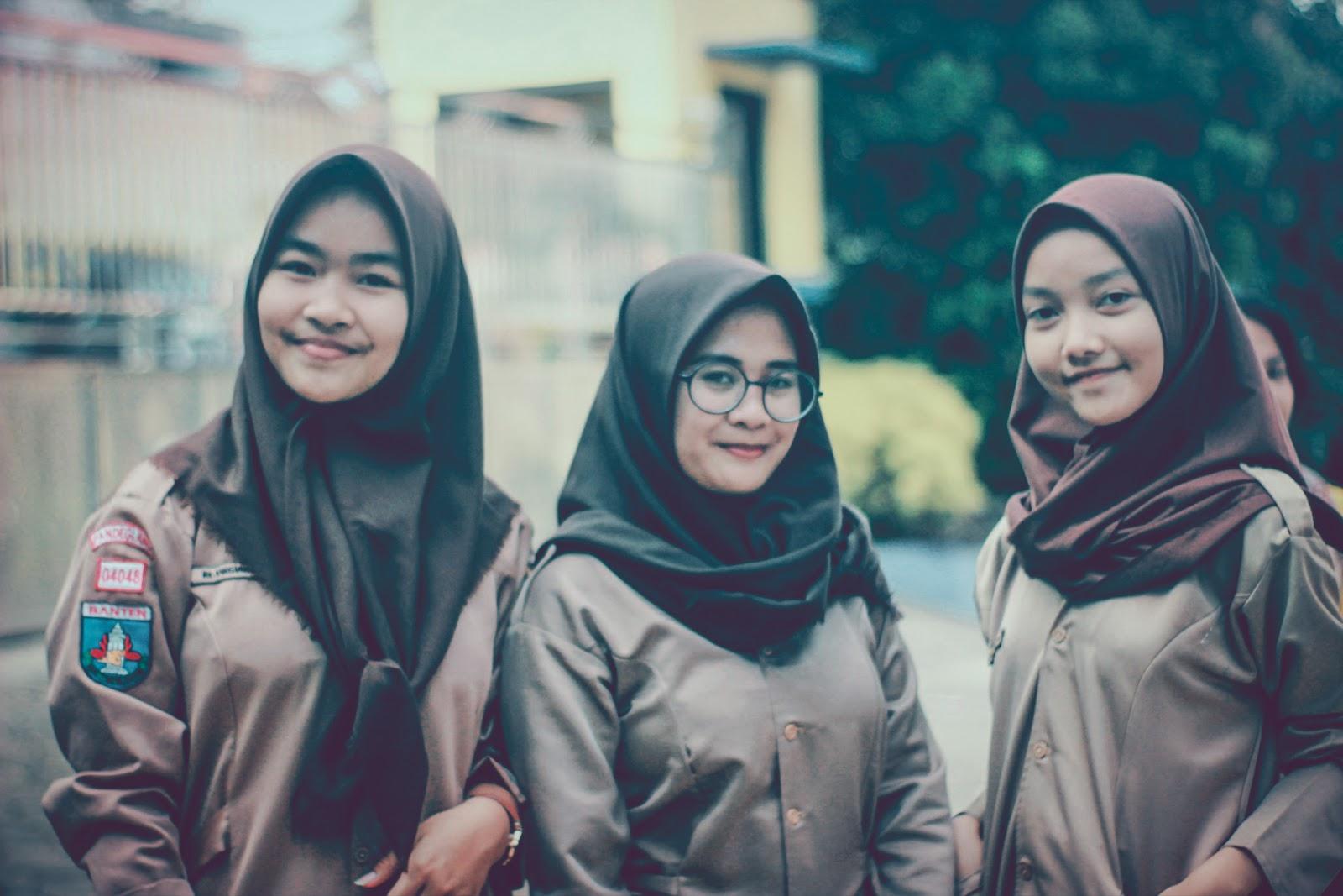 5 Rahasia Cantik Untuk Pramuka Muslimah