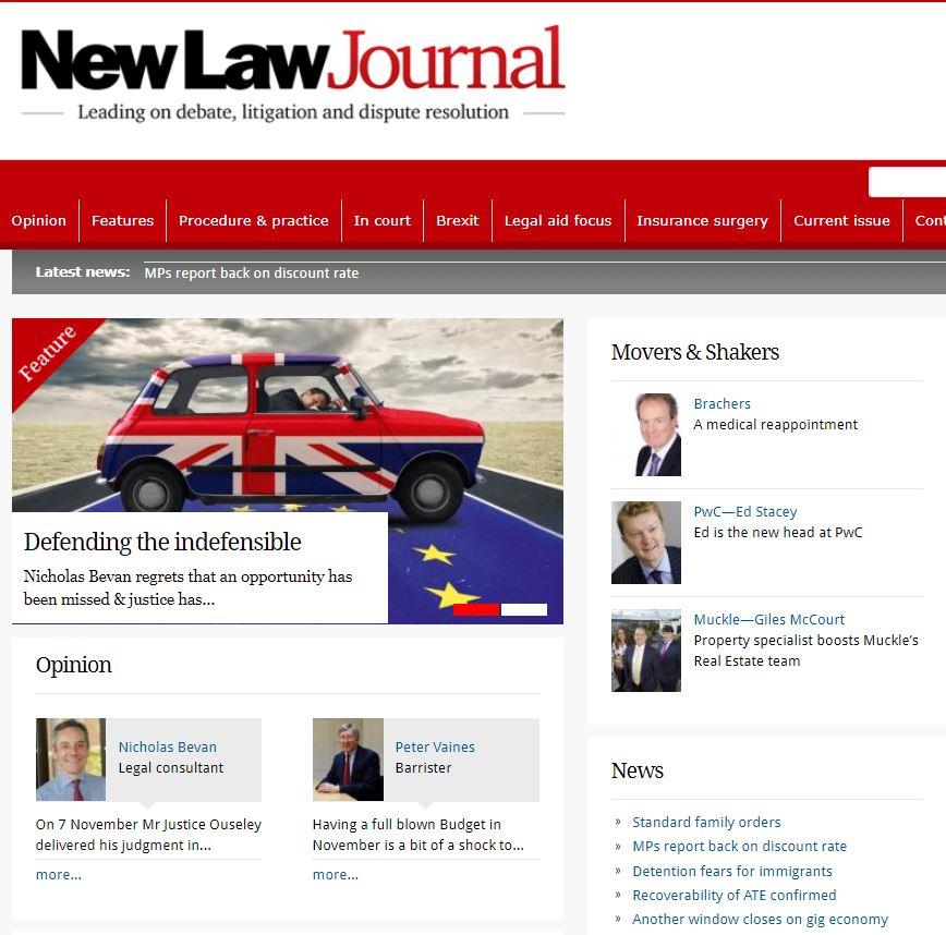 Nota Bene Legal Consulting 2017