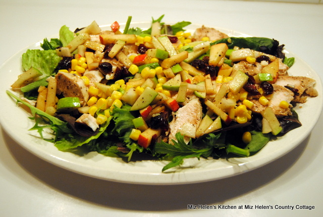 Chicken Salad With Fall Salsa at Miz Helen's Country Cottage