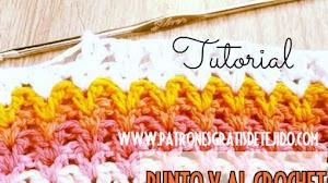 Cómo tejer el punto V al crochet + Funda para Móvil DIY / Tutorial