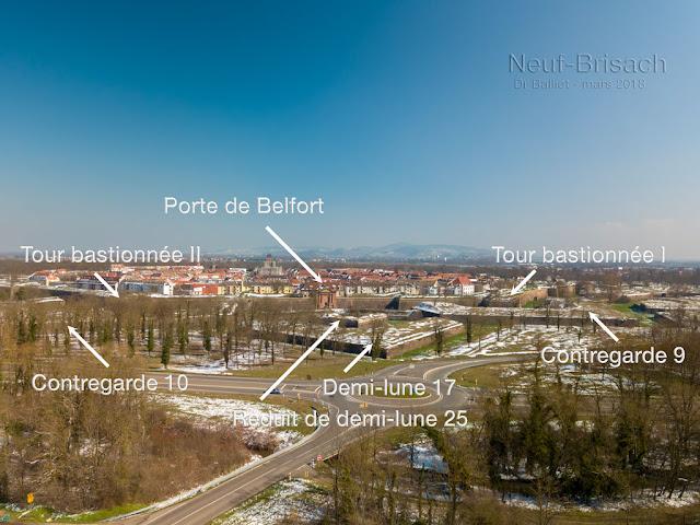 Neuf-Brisach - Front 1-2 (porte de Belfort)