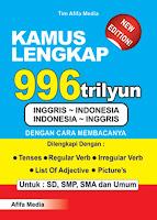 Kamus Lengkap 996 Trilyun Inggris >< Indonesia Index | Rp. 28.500,-