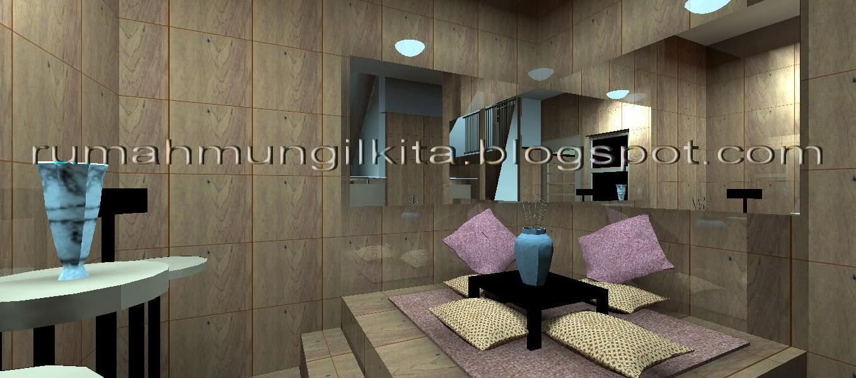 Desain Ruang Tamu Lesehan Tanpa Meja  Desain Rumah