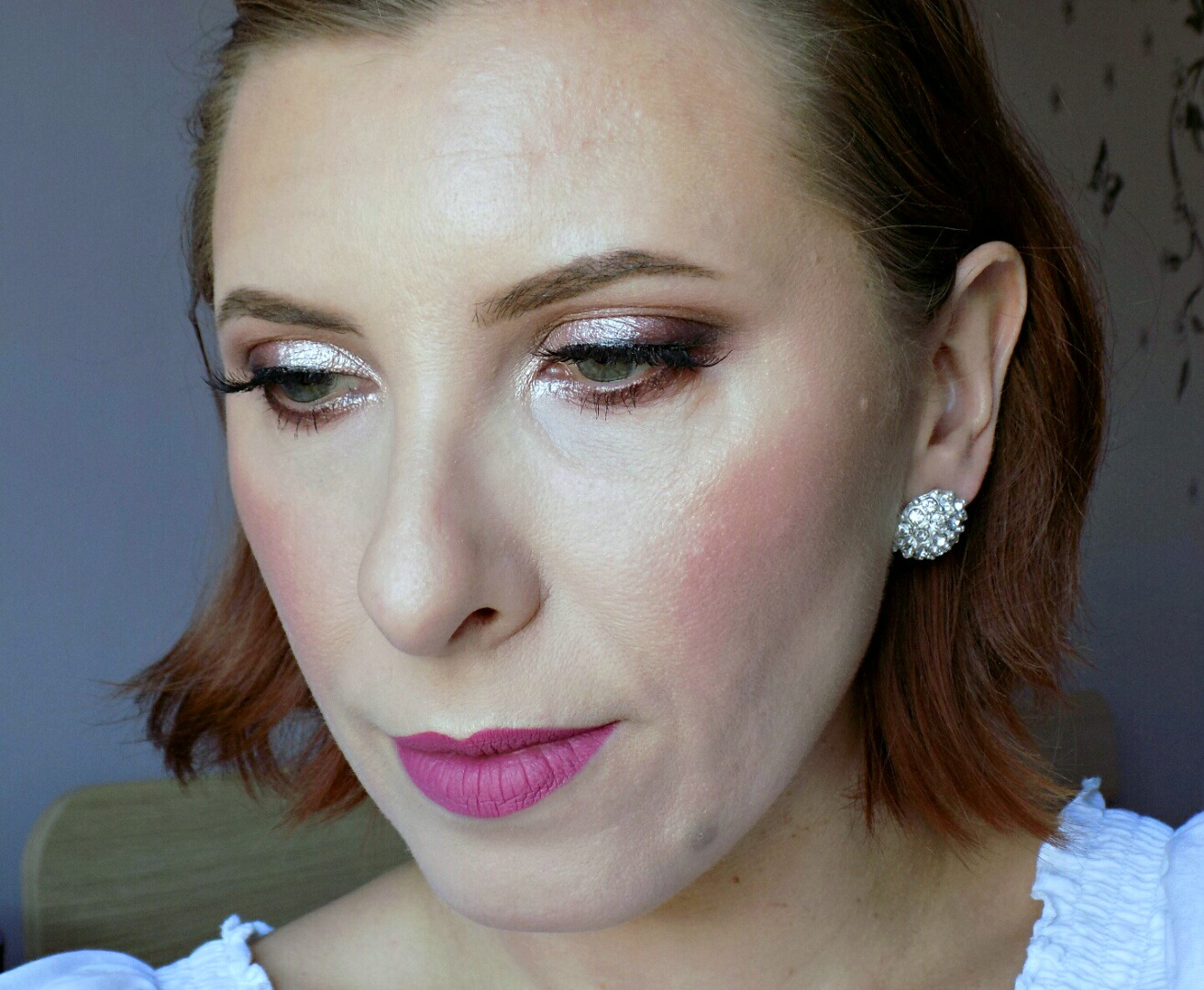 wedding guest/bridal makeup look